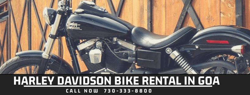 Harley Davidson bikes on rent in goa | Book Harley Davidson